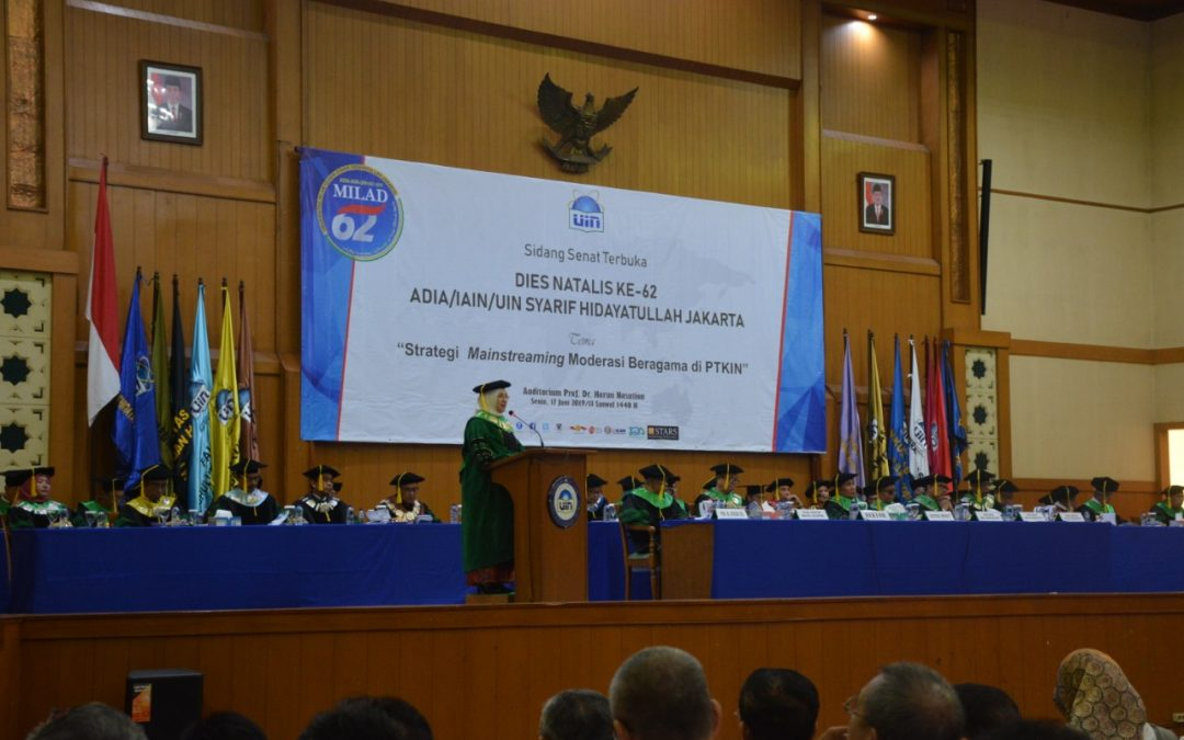 UIN Jakarta holds the 62nd Dies Natalis