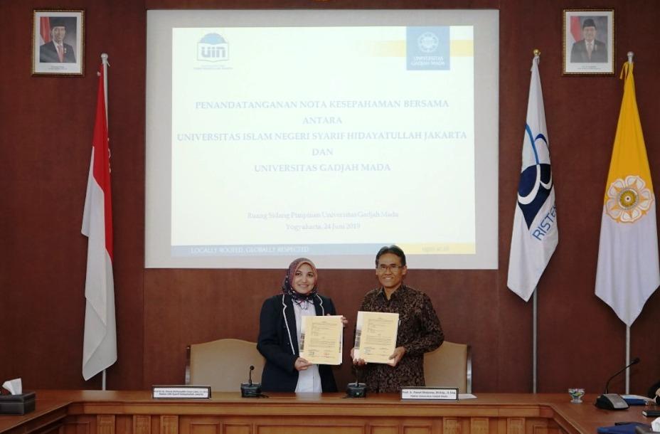 UIN Jakarta-UGM Pererat Kerjasama Bidang Kedokteran