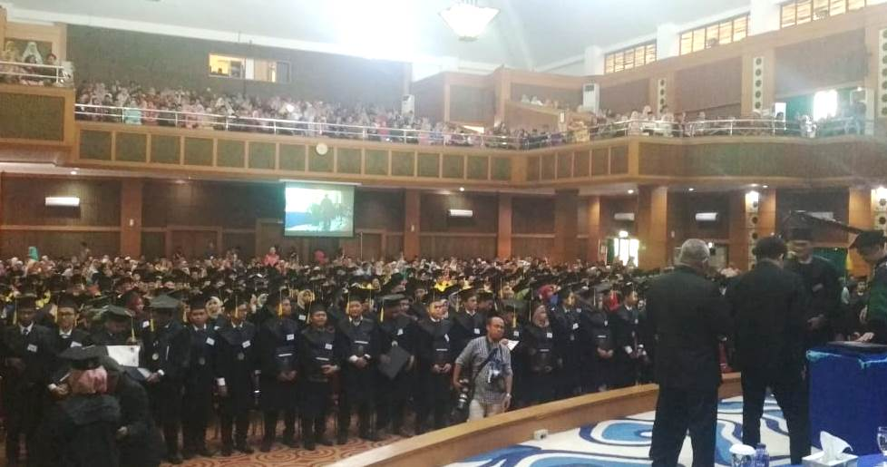 UIN Jakarta holds the 112th graduation ceremony