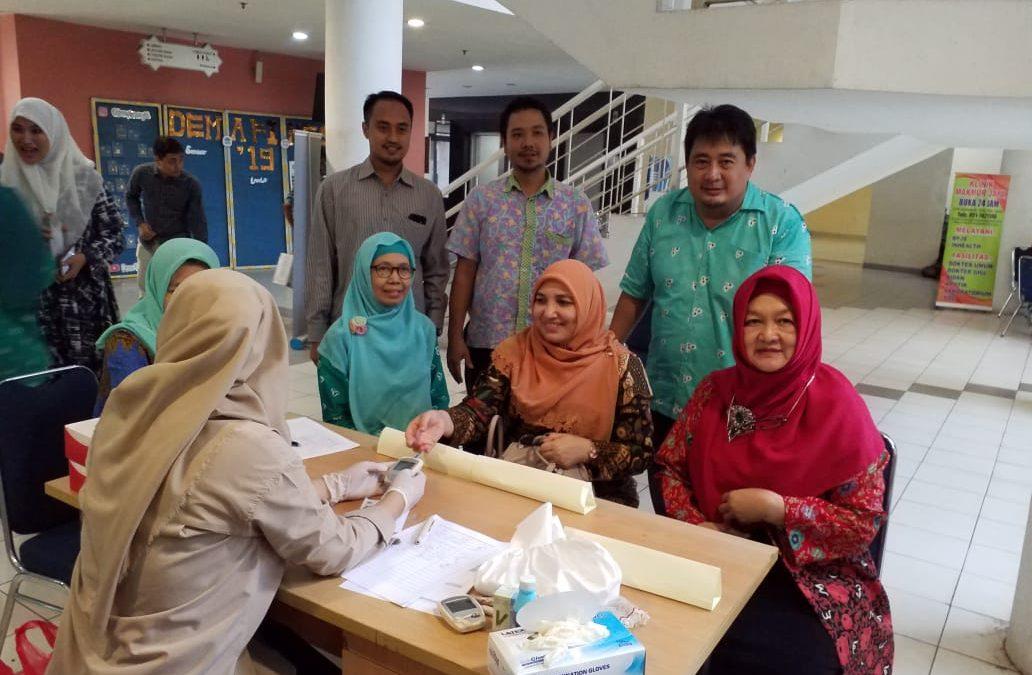 UIN Jakarta Gelar Baksos Cek Kesehatan Gratis