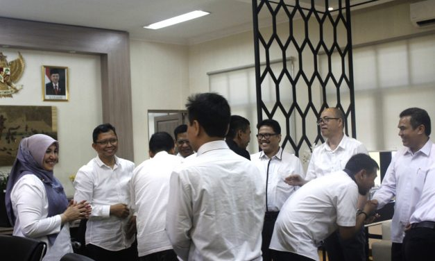 Rector of UIN Jakarta holds the Lebaran open house