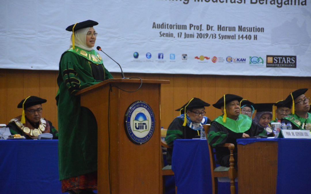 Rektor: UIN Jakarta Harus Jadi Rumah Moderasi Beragama