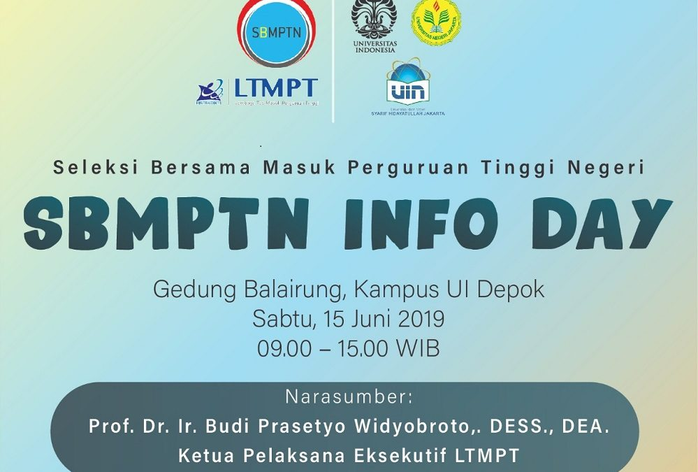 UIN Hadir di SBMPTN Info Day 2019