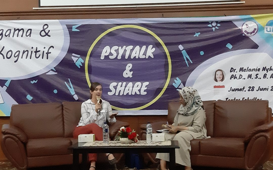 Faculty of psychology holds psytalk and share event
