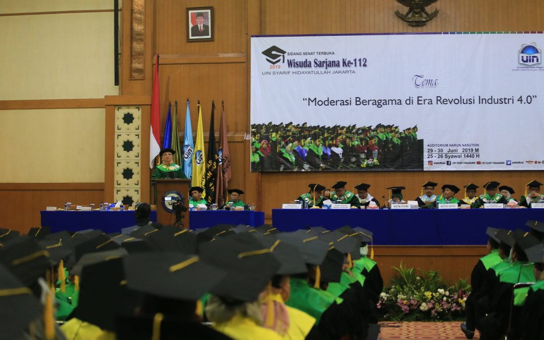 Rector: Alumni of UIN Jakarta must take part in the 4.0 industrial revolution