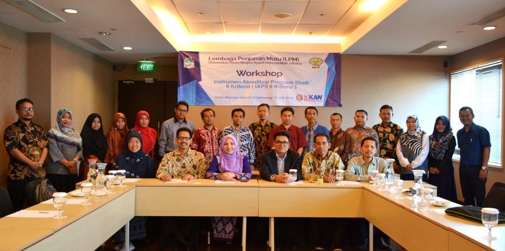 LPM UIN Jakarta Gelar Workshop IAPS 9 Kriteria