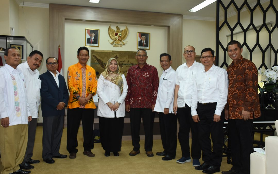 Rektor Terima Asesor Magister Pengkajian Islam SPs UIN Jakarta