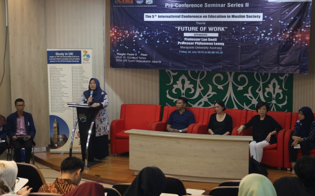 FITK Awali ICEMS 5th dengan Pre-Conference Seminar II