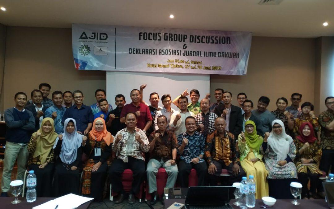 Pengelola Jurnal Dakwah UIN Jakarta Dukung Pendirian PPJID