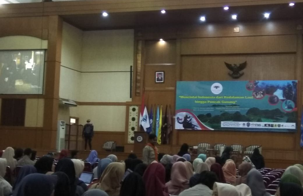 UIN Jakarta-PB POSSI Gelar Studium General dan Pameran