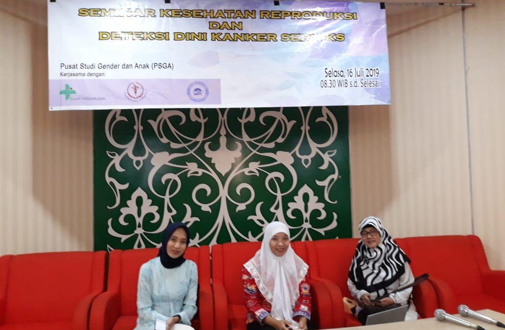 Selain Pemeriksaan, PSGA Juga Menggelar Seminar Kesehatan Reproduksi