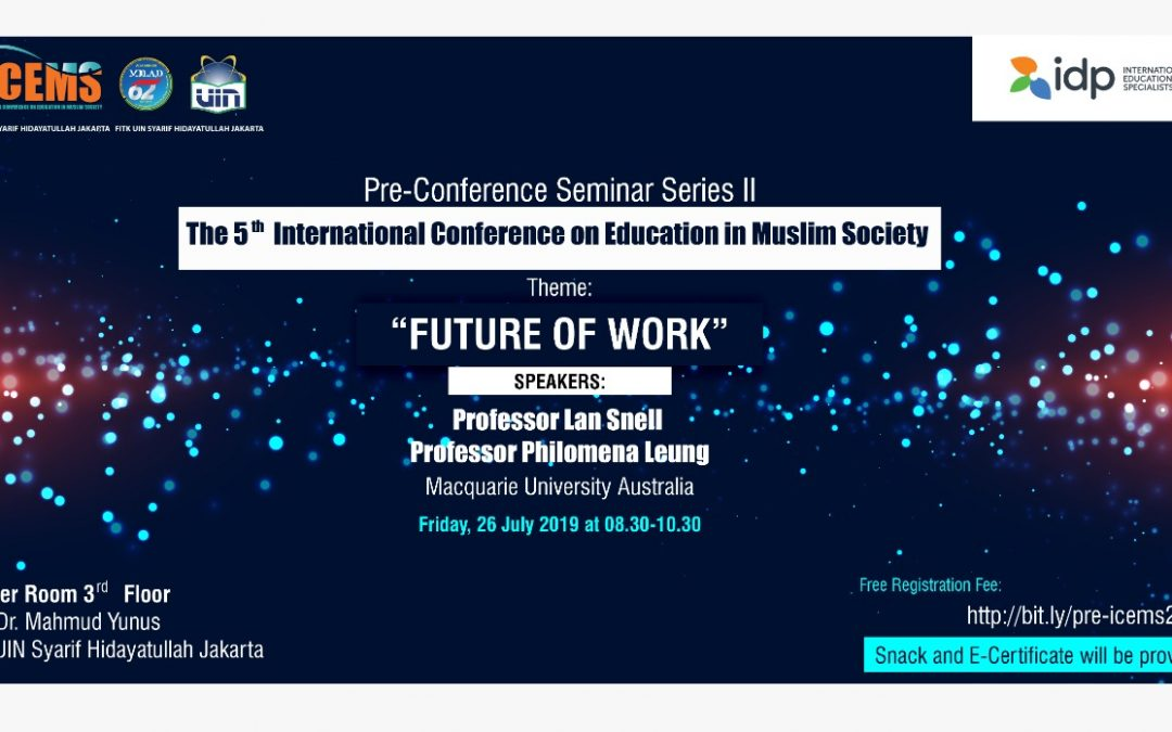 FITK Gelar Pre-Conference Seminar II 5th ICEMS