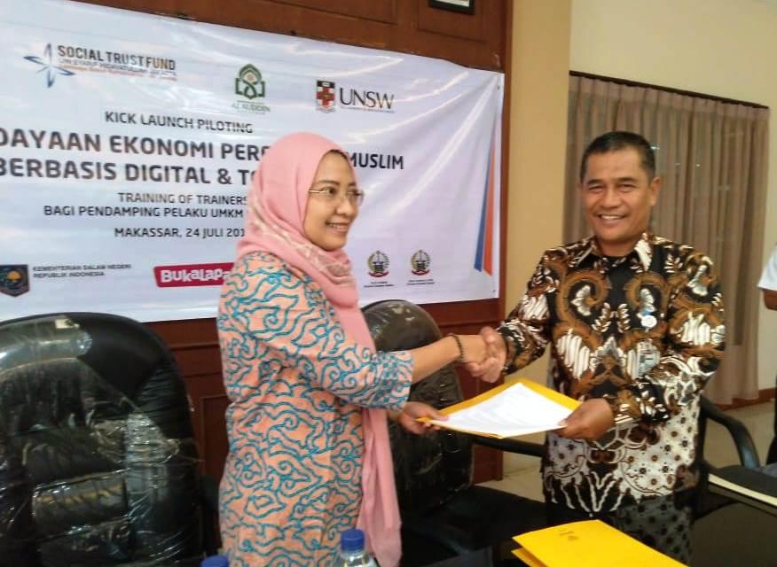 Tingkatkan Peran Ekonomi Perempuan, Pemberdayaan STF UIN Jakarta Sasar Tiga Wilayah