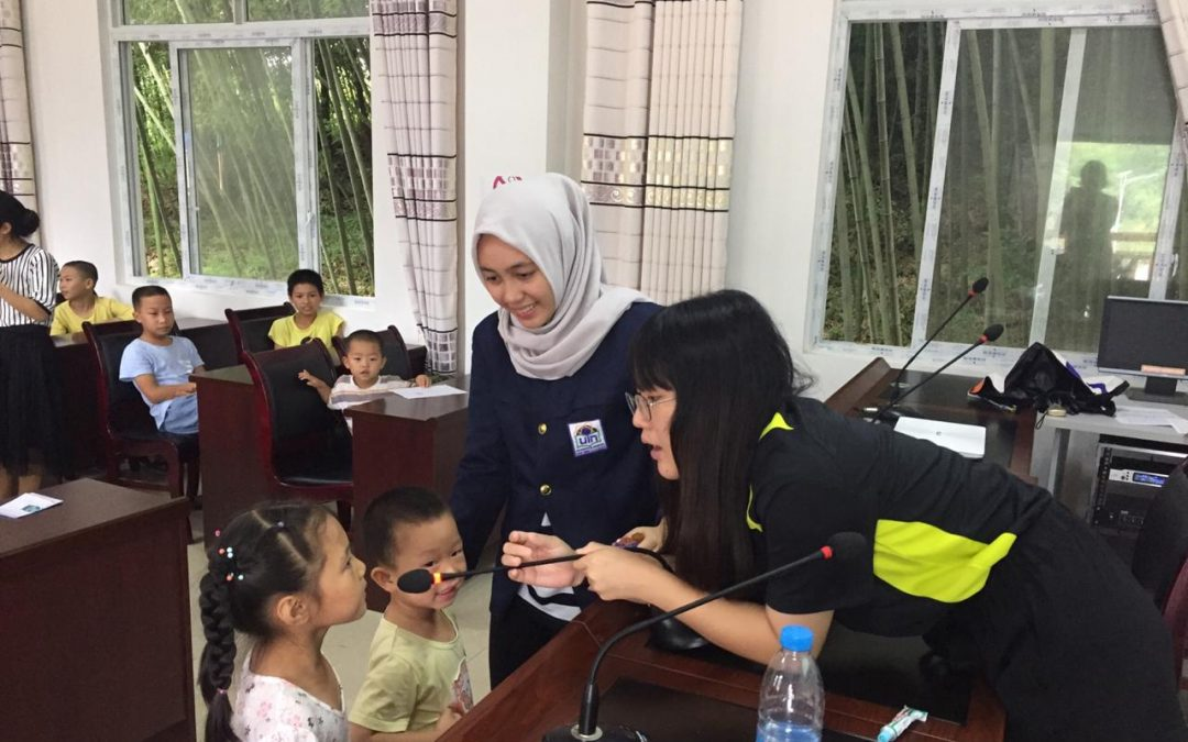 International KKN Program: Vania Puti Mahsa chose China