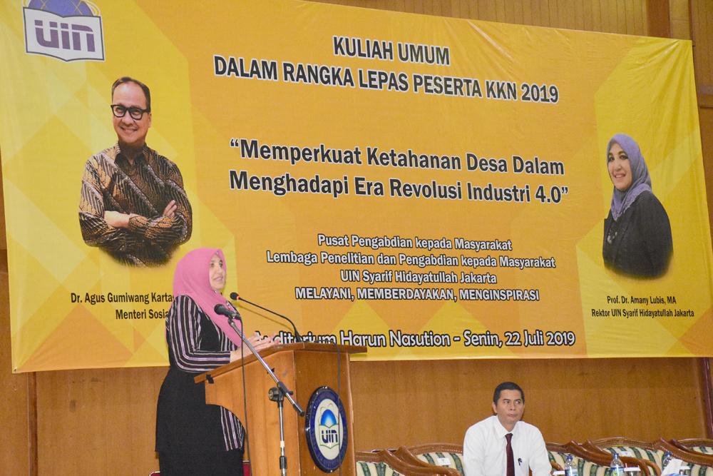 Rektor Amany Lubis Minta Mahasiswa Segera Selesaikan Kuliah