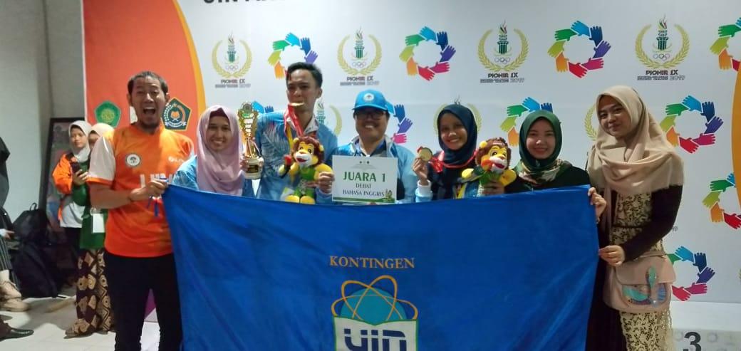 UIN Jakarta Masuk 5 Besar Peraih Medali Emas Pionir IX