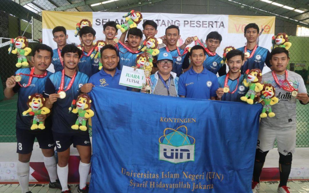 Futsal UIN Jakarta Juara Nasional PTKIN