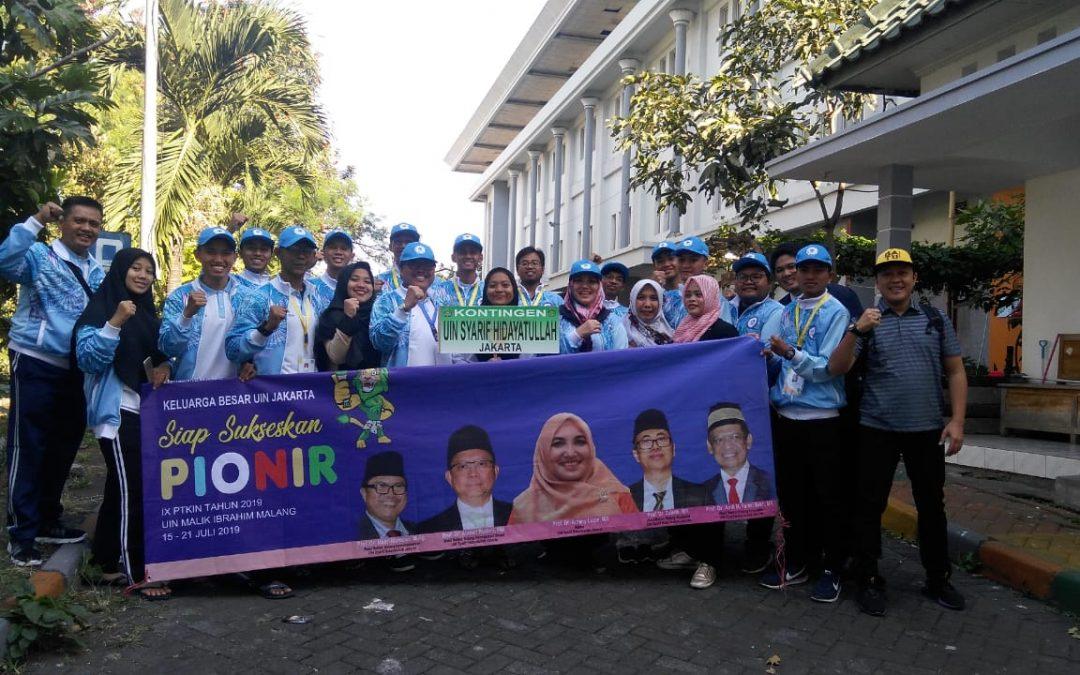 Rektor Amany Lubis Beri Semangat Kontingen UIN Jakarta