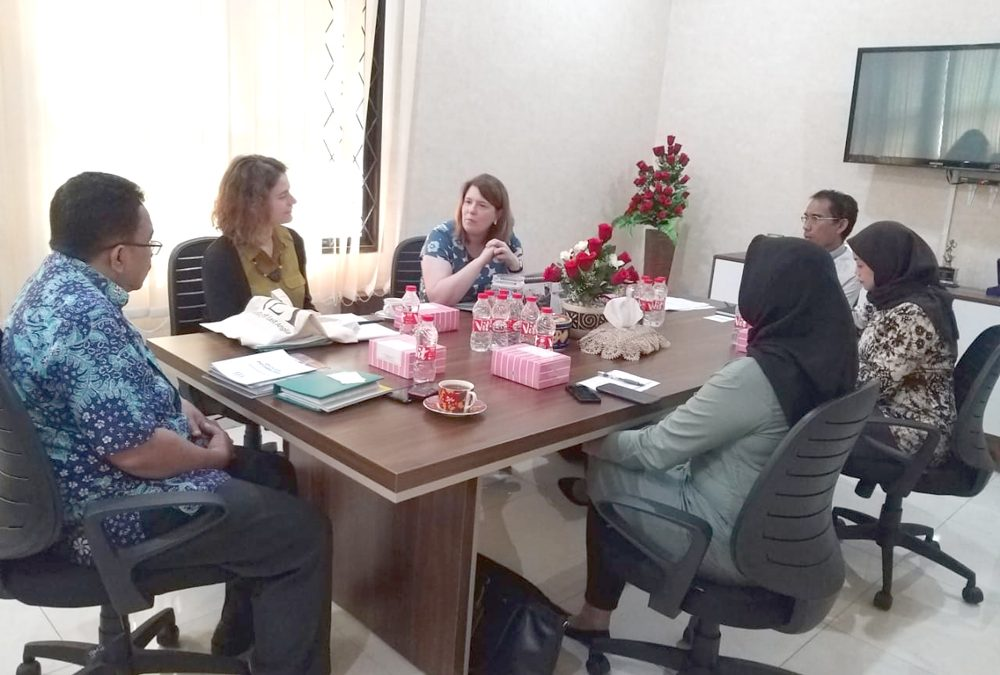 SPs UIN Jakarta Terima Tamu dari University of East Anglia, Inggris