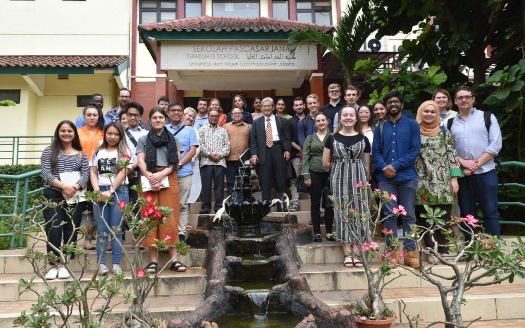 28 Mahasiswa Swinburne University Australia Kunjungi SPs UIN Jakarta
