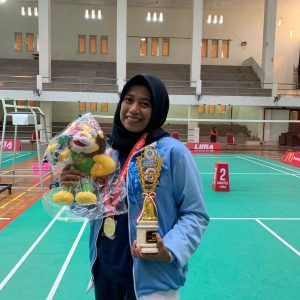 Febtria Adisthya Rato Putri won the first gold medal for UIN Jakarta at PIONIR IX