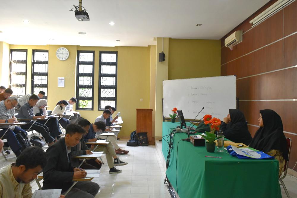 SPs UIN Jakarta Seleksi 101 Calon Mahasiswa Baru