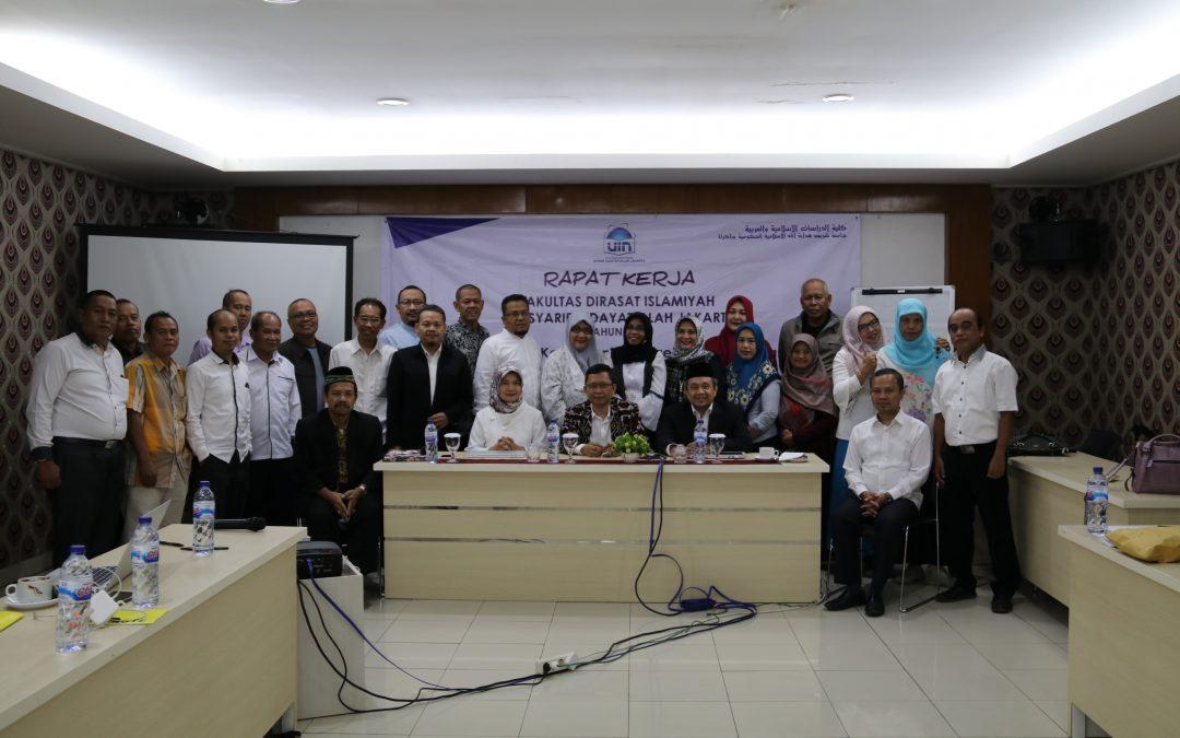 FDI UIN Jakarta Menggelar Rapat Kerja 2019