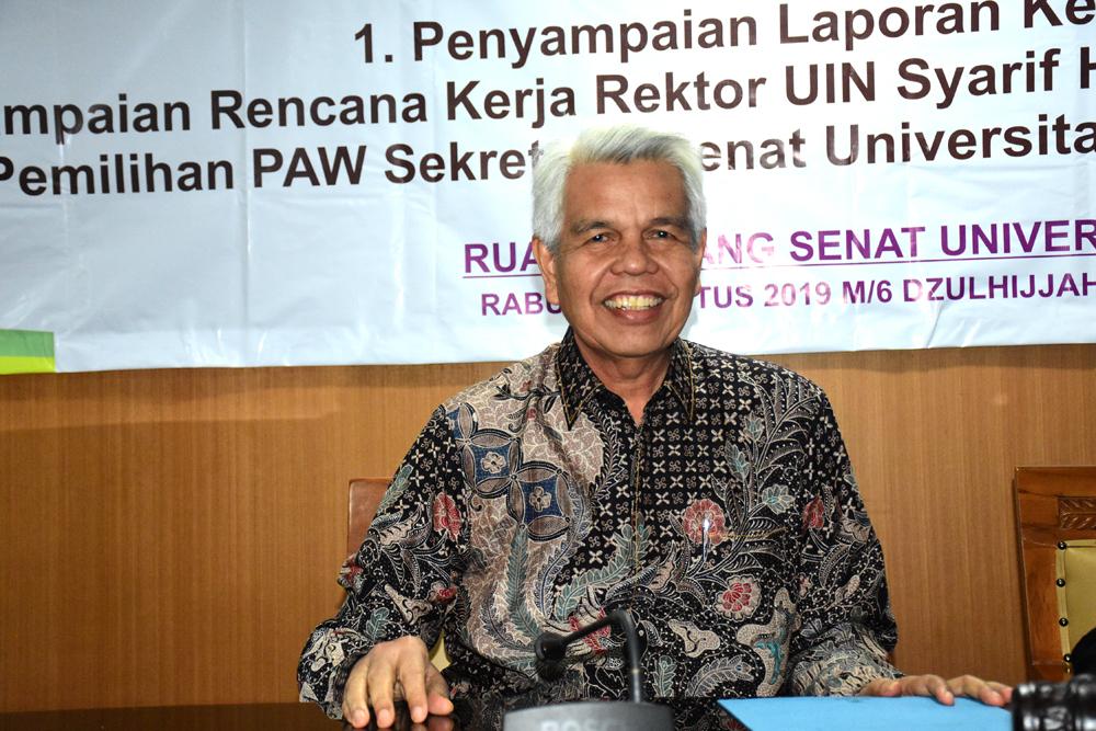 Armai Arief, PAW Sekretaris Senat Terpilih