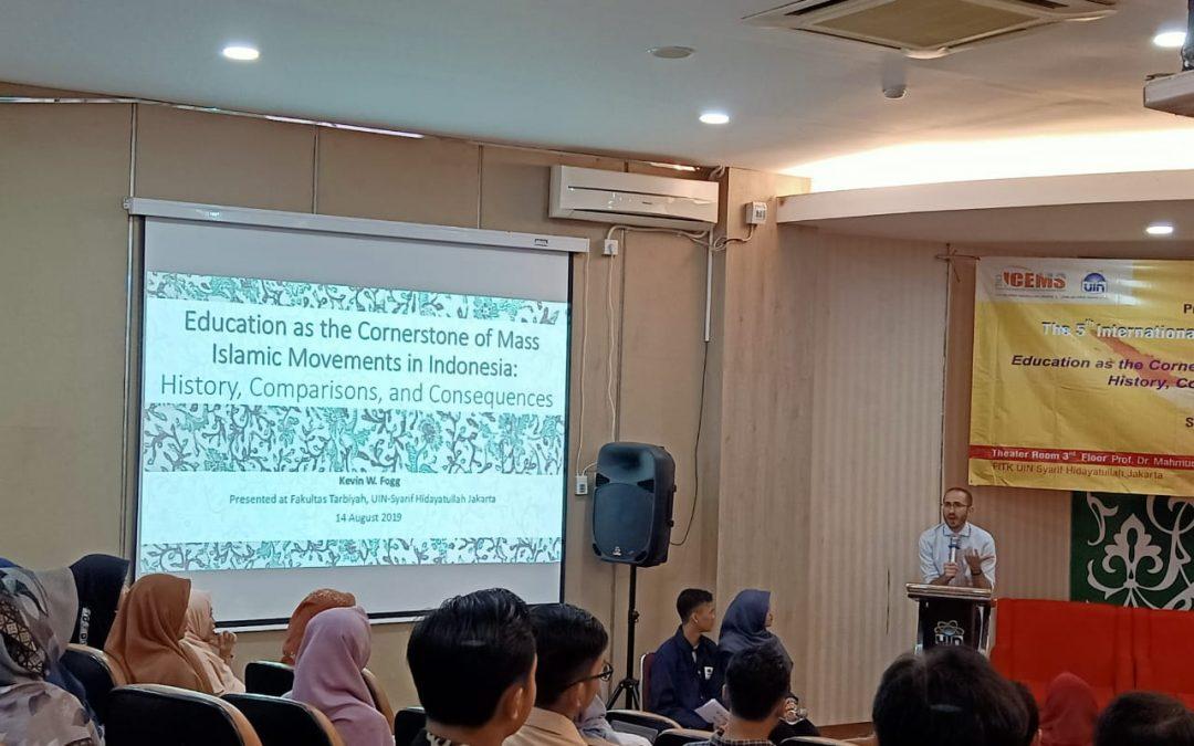 Pre-Conference 3 FITK Bahas Karakteristik Ormas Islam Indonesia