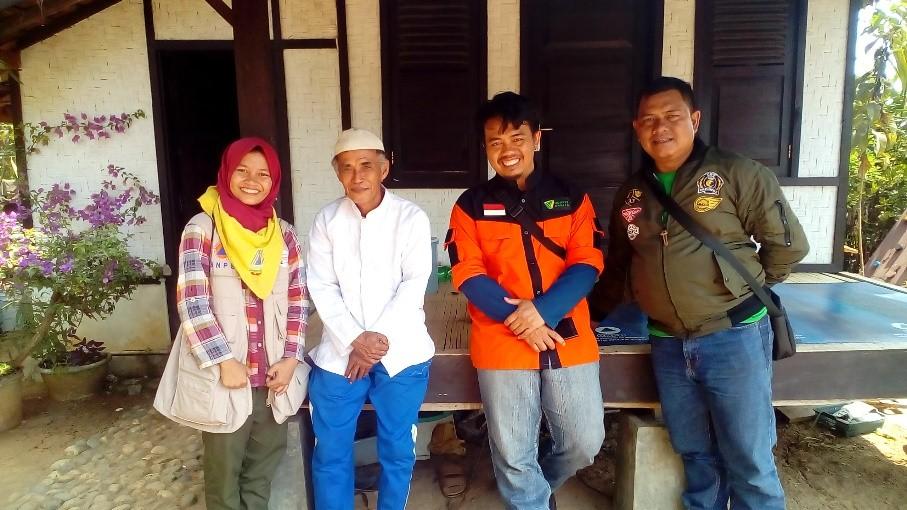 Ranita UIN Jakarta Ikuti Ekspedisi Desa Tanggguh Bencana