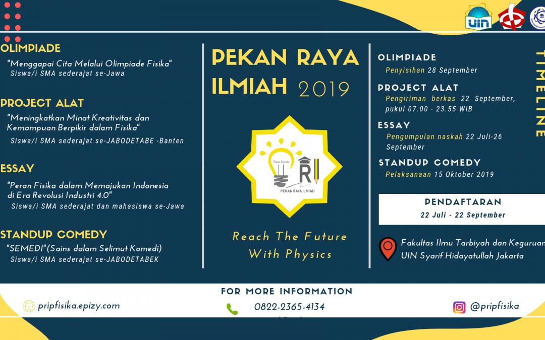 Prodi Pendidikan Fisika FITK UIN Jakarta Ajak Pelajar Tingkatkan Ilmu Pengetahuan dan Teknologi