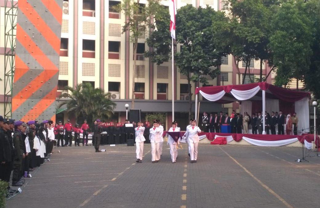 UIN Jakarta Gelar Upacara HUT RI Ke-74