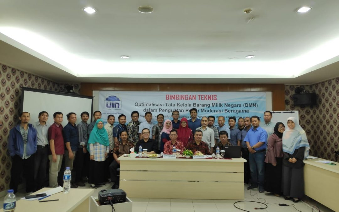 UIN Jakarta Berkomitmen Tingkatkan Kualitas Kelolaan BMN