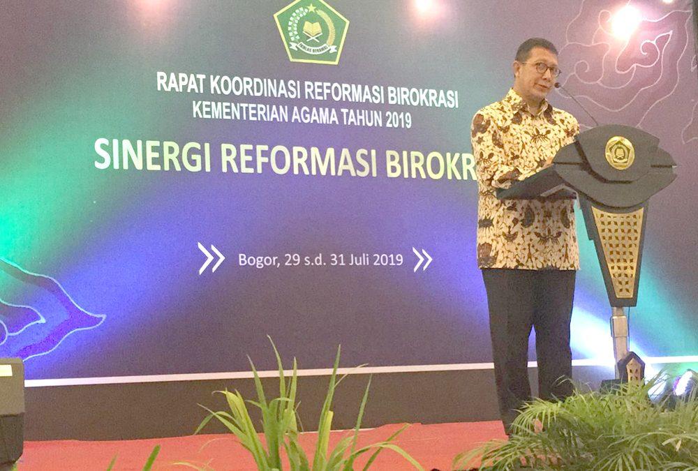 UIN Jakarta Dukung Semangat Reformasi Birokrasi Kemenag