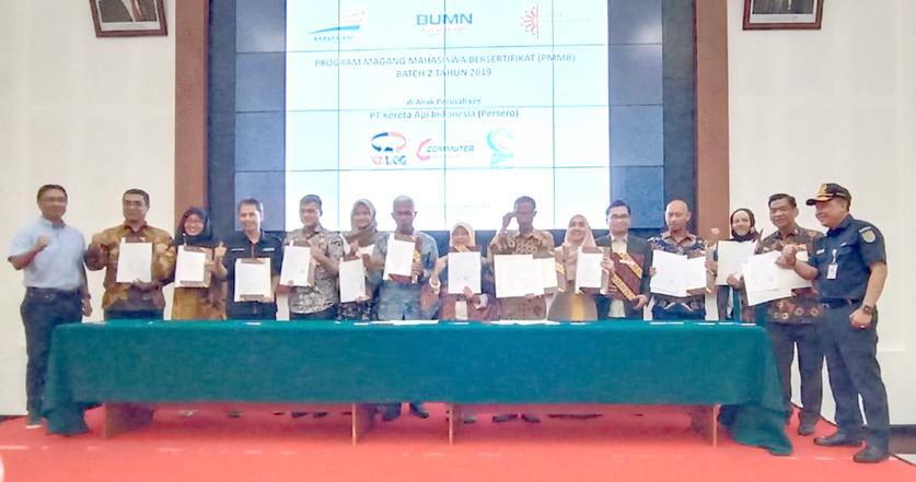 UIN Jakarta-PT KAI Teken Kerja Sama Program Magang