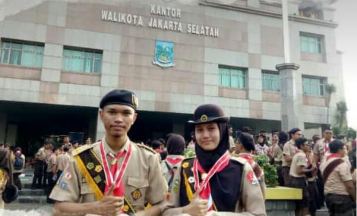2 Pramuka UIN Jakarta Raih Prestasi Garuda