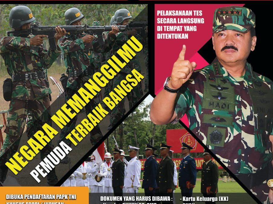 Mabes TNI Terima Calon Perwira Prajurit Karier