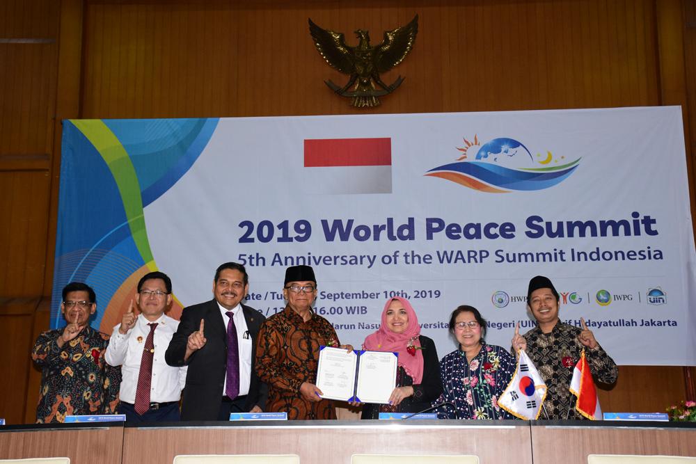 UIN Jakarta Berkomitmen Ciptakan Perdamaian Dunia