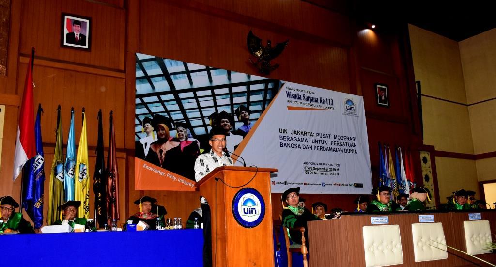 Alumni: Lulusan UIN Jakarta Harus Bisa Apa Saja dan di Mana Saja