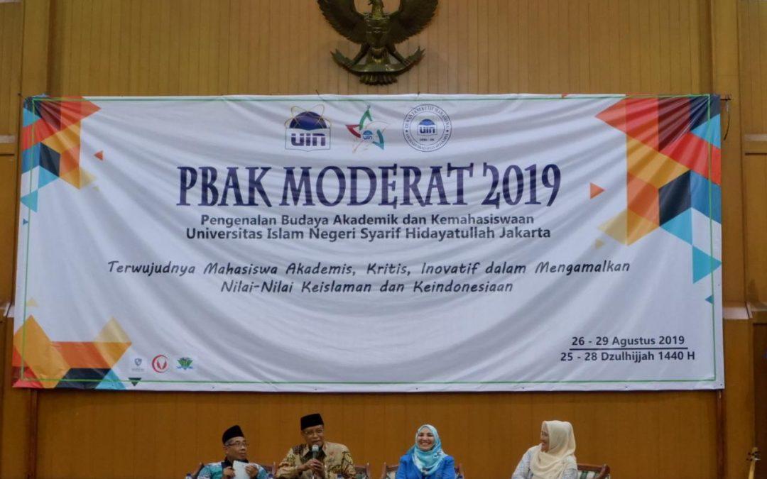 KH Said Aqil Siraj Bahas Moderasi Beragama pada PBAK UIN Jakarta