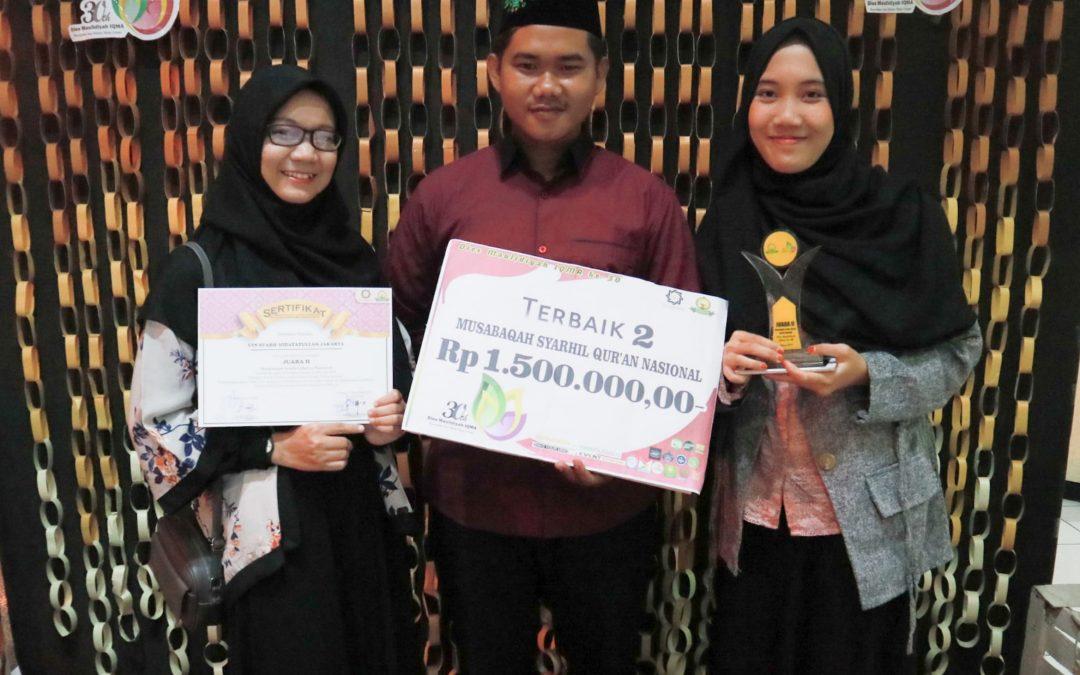 HIQMA UIN Jakarta Kembali Torehkan Prestasi di Kancah Nasional