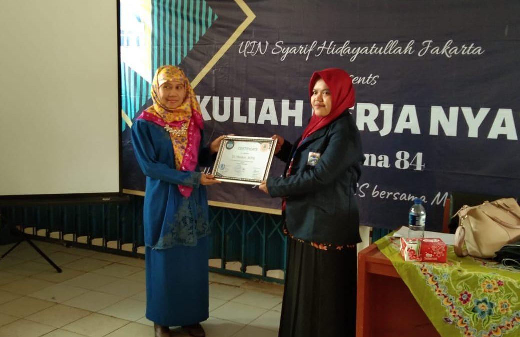 KKN: Mahasiswa FITK Gelar Pelatihan RPP Tingkat SD di Bogor