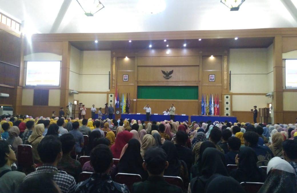Calon Sarjana Ikuti Gladi Resik Wisuda ke-113