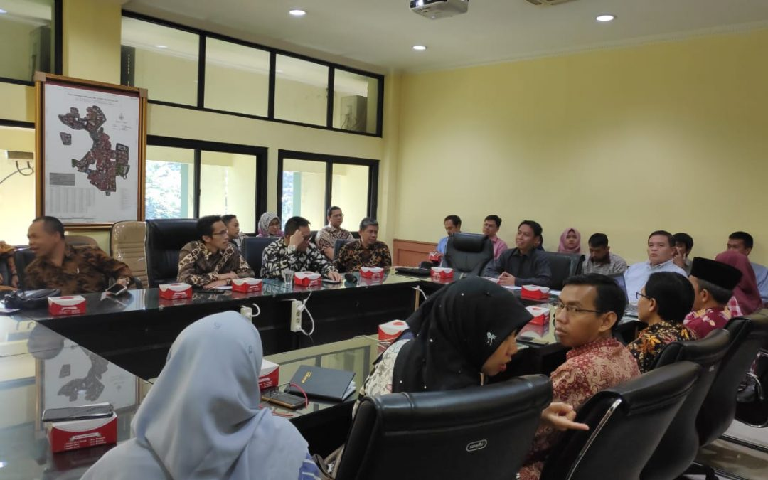 UIN Walisongo conducts financial management benchmarking at UIN Jakarta