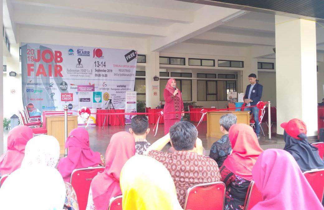 Meriahkan Milad ke 10, FISIP UIN Jakarta Gelar Job Fair 2019