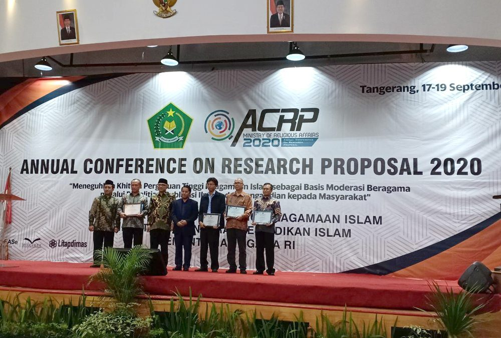 UIN Jakarta Receives the Best Research Proposal Award