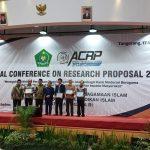 UIN Jakarta Terima Penghargaan Proposal Penelitian Terbaik