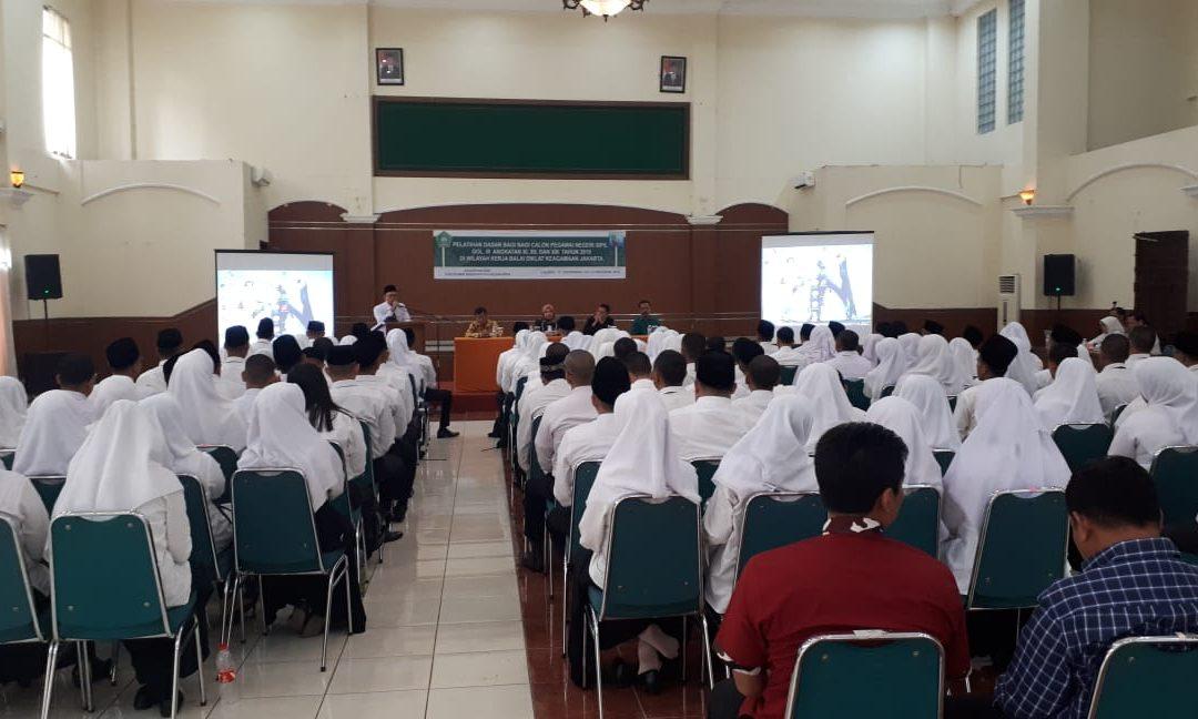 Rektor UIN Jakarta Beri Pembekalan Peserta Latsar CPNS 2019