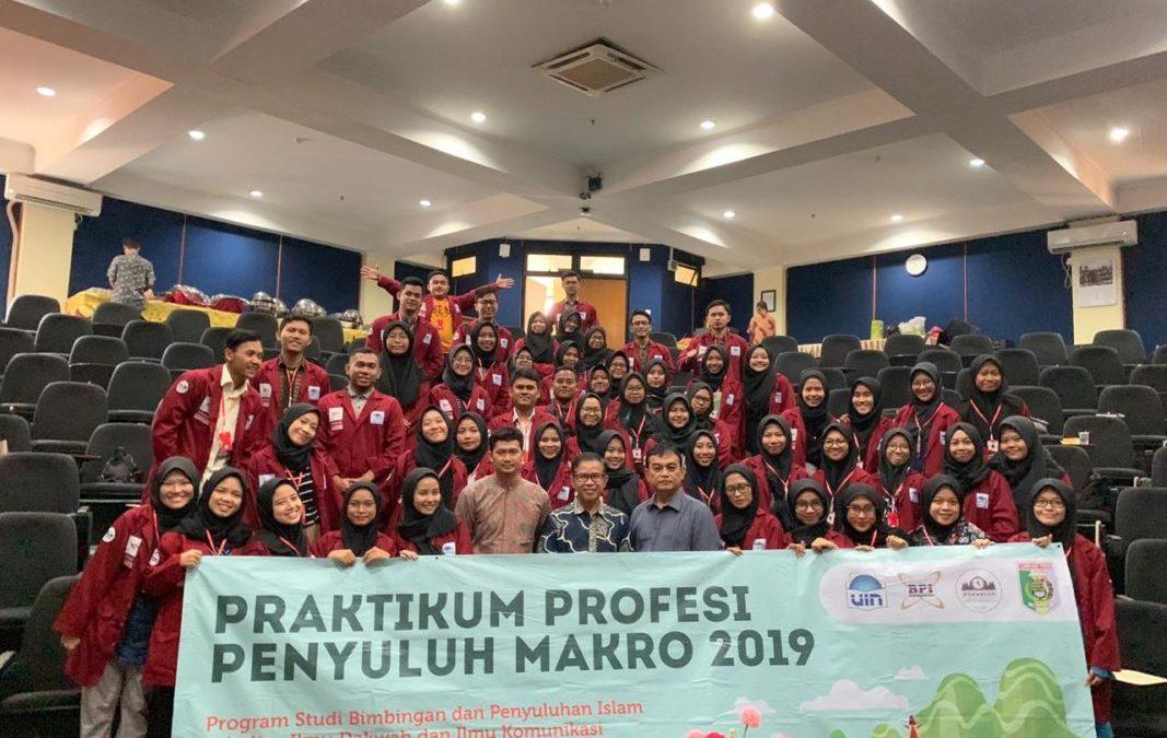 Mahasiswi BPI Gelar Praktikum Profesi Makro di Lampung