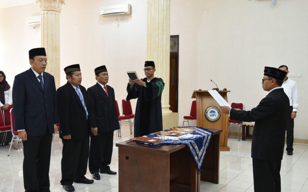 Direktur SPs UIN Jakarta Lantik Kaprodi dan Sekprodi Baru